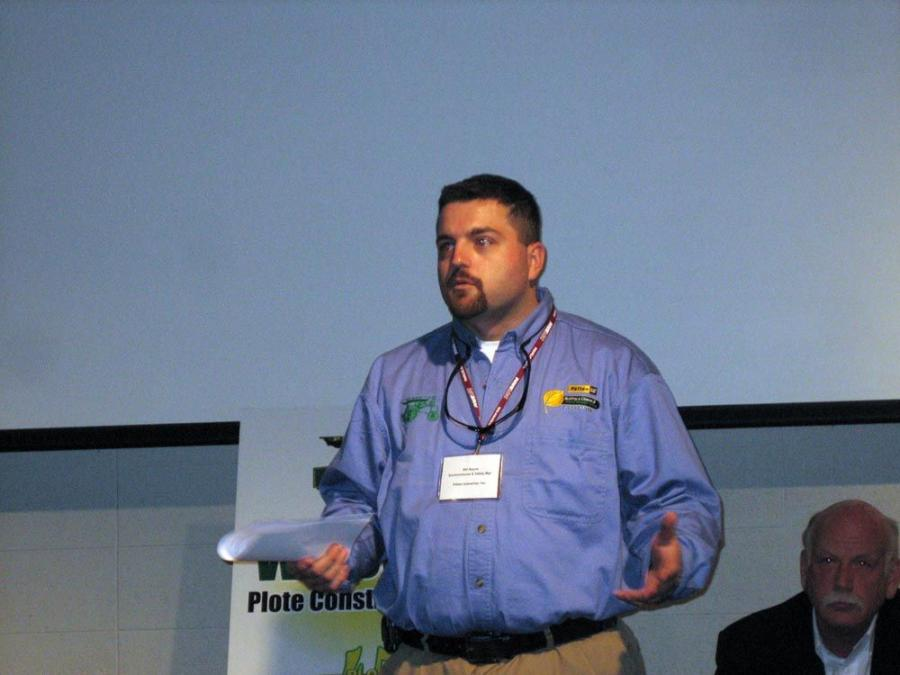 Bill Bayne, environmental and safety manager of Patten Industries, explains the many benefits of the Tier III engines.