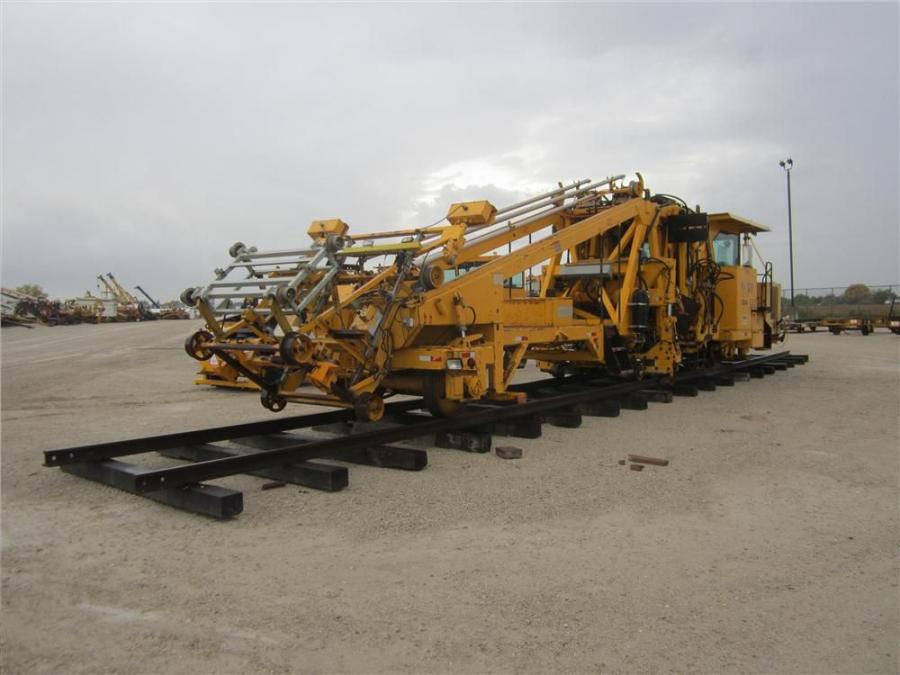 The Rit. Bros. Auction team in Morris, Ill., put together a large display of railroad equipment at the Oct. 3 sale.