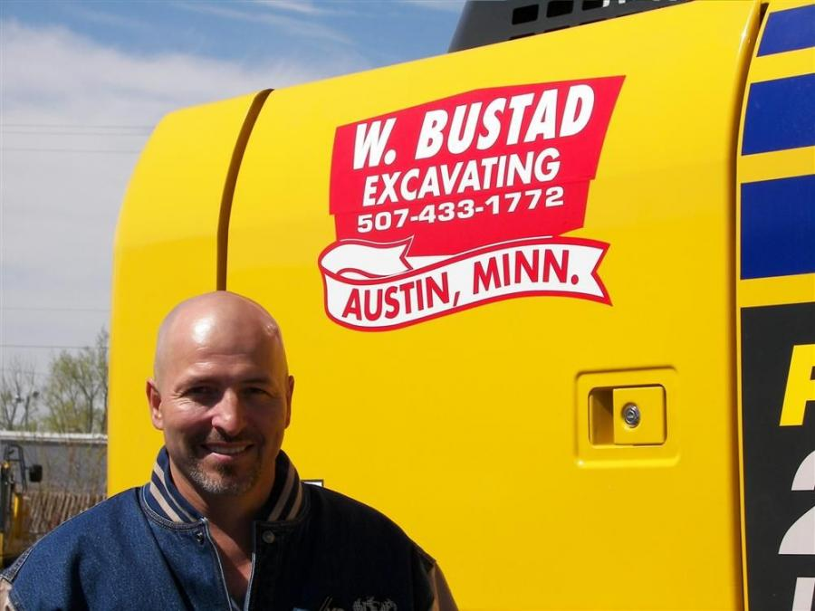 Jeff Bistadeau is territory manager of the southern area of Minnesota.