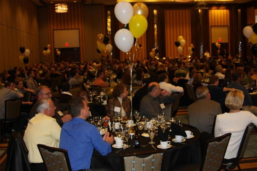 More than 300 employees and guests attended West Side Tractor Sales' 50th Golden Anniversary celebration Jan. 28, 2012 at the Blue Chip Resort and Casino in Michigan City, Ind.