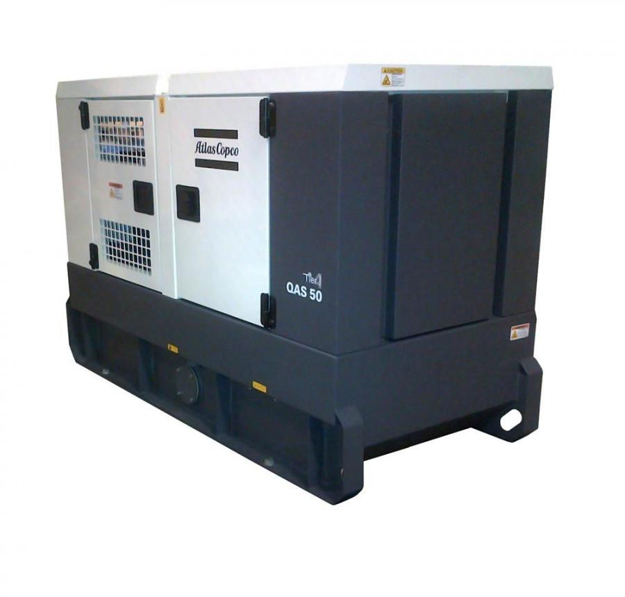 The QAS 25 and QAS 50 60Hz generators for heavy-duty applications become the first Tier IV Final generators from Atlas Copco since the emission standard took effect.