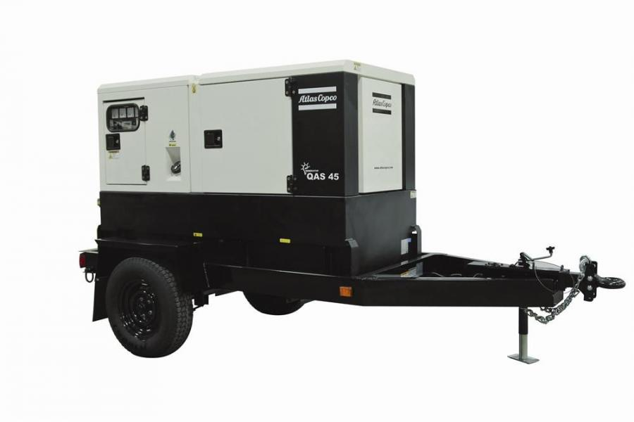 Designed for extreme weather conditions, the QAS 45 portable generator features a Zincor steel enclosure and its frame is designed to be spillage-free to protect the environment.