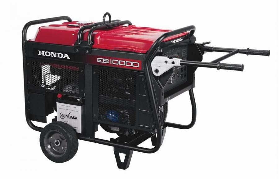 The Honda EB10000 generator features a narrow-shaped design; a centralized exhaust mechanism; and a newly developed alternator.