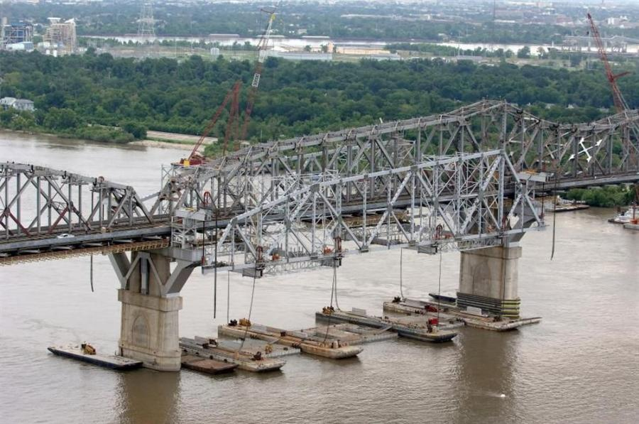 Jefferson Parish's Huey P. Long Bridge widening project was the most significant construction project of 2012, the Associated General Contractors of America announced recently.