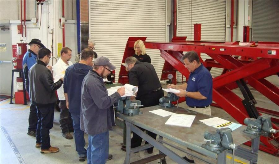 "The Automotive Lift Institute's (ALI) ""Five Days to Victory"" training, testing and inspecting event helps ALI Lift Inspector Certification Program participants quickly move through the certification process. It will be held Nov. 1 to 5 i"