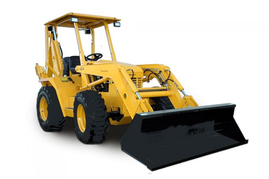 The TLB-6235 features a full-time mechanical four-wheel drive system, offering functionality through a hydrostatic transmission.