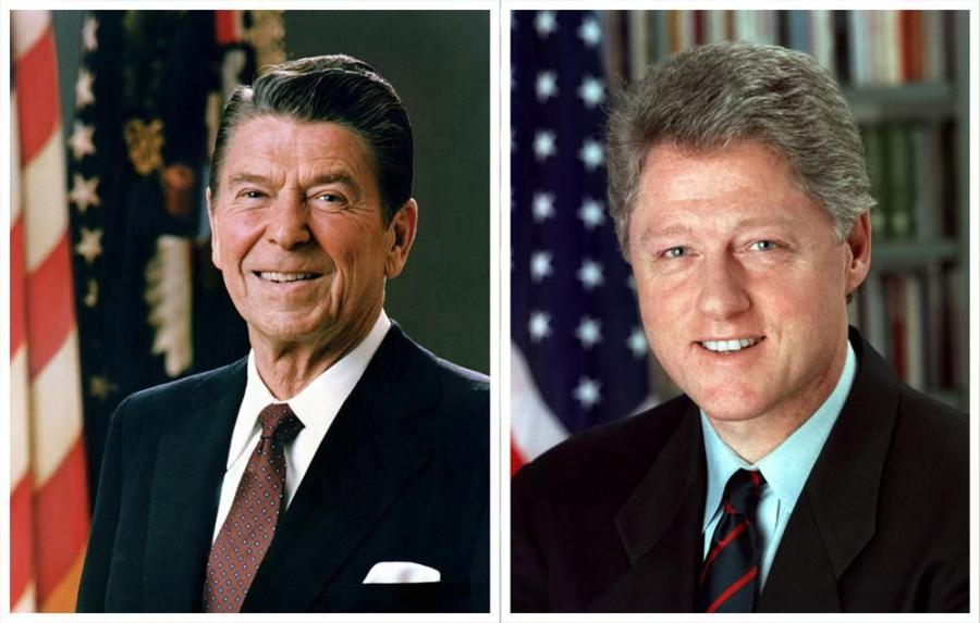 Former Presidents Ronald Reagan and Bill Clinton are featured in an award-winning Transportation Bill ad campaign developed by American Road & Transportation Builders Association (ARTBA) and American Public Transportation Association (APTA).