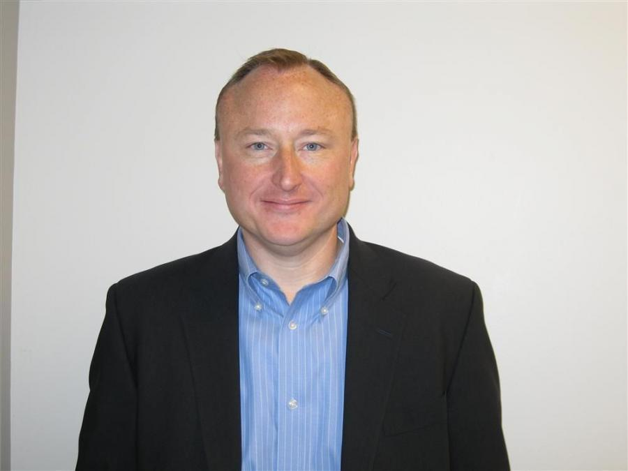 Brian Bieller, new vice president, business development, at Atlas Copco Construction Equipment.