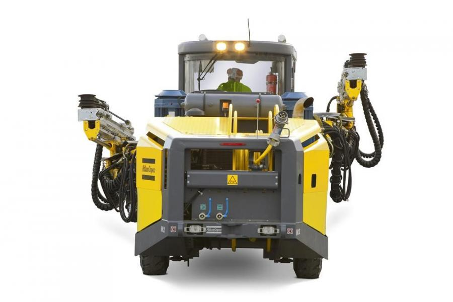 The upgraded Boomer M2 C from Atlas Copco offers simplicity, ergonomic design, high performance and an extensive range of rock drills.
