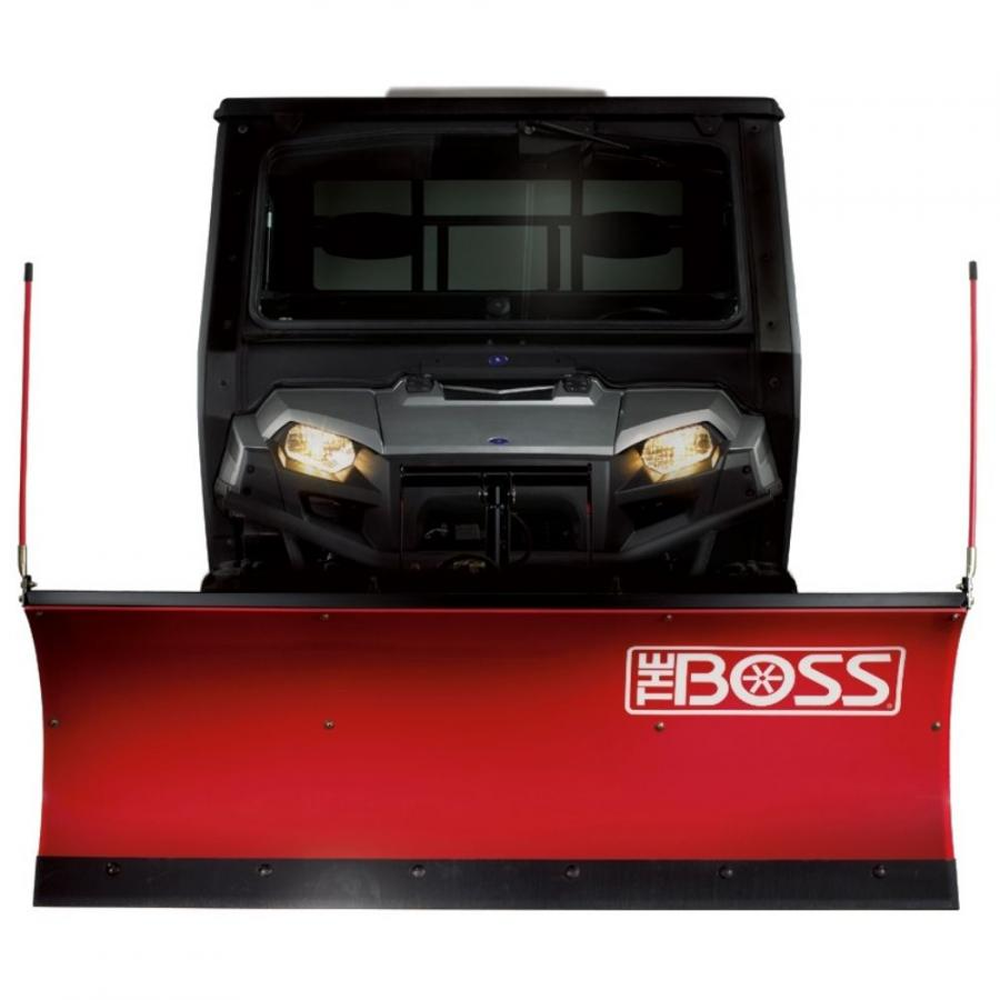 The BOSS UTV plows are 