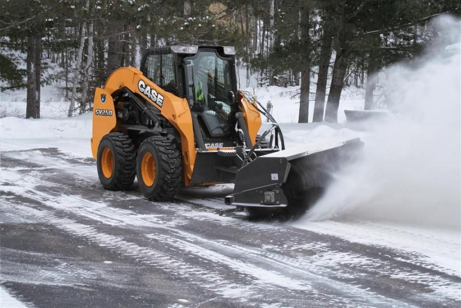 Case offers 11 snow blowers and brooms.