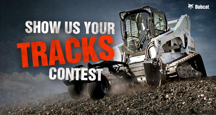 The grand-prize winner will receive new tracks installed free of charge by a local authorized Bobcat dealer.