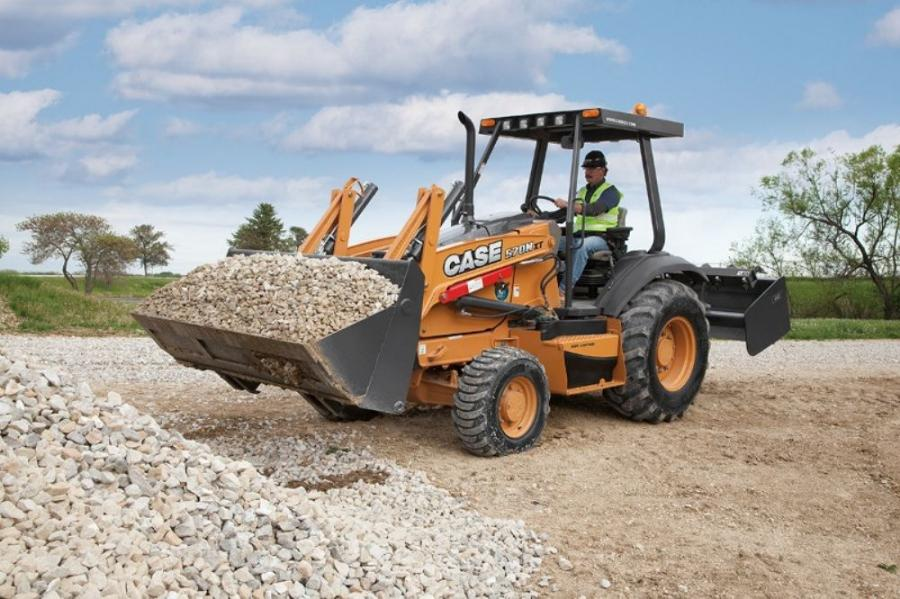 The Case 570N XT loader/tool carrier features a Case turbocharged engine rated at 78 net hp (58 kW) that delivers a minimum five-percent increase in fuel efficiency and faster response times than previous models, while achieving Tier IV Interim certificat