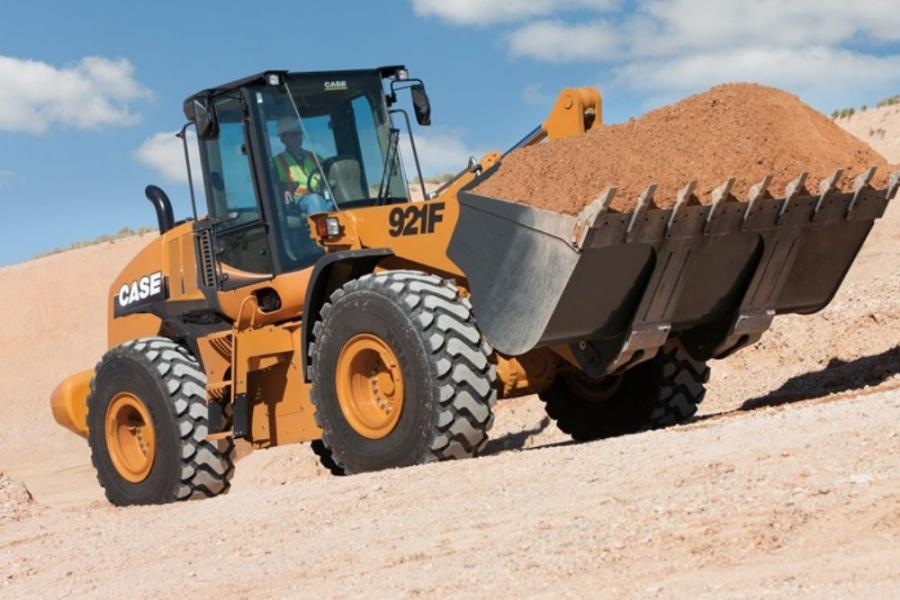 The new Case 721F, 821F and 921F wheel loaders evolved from the company's E Series product line.