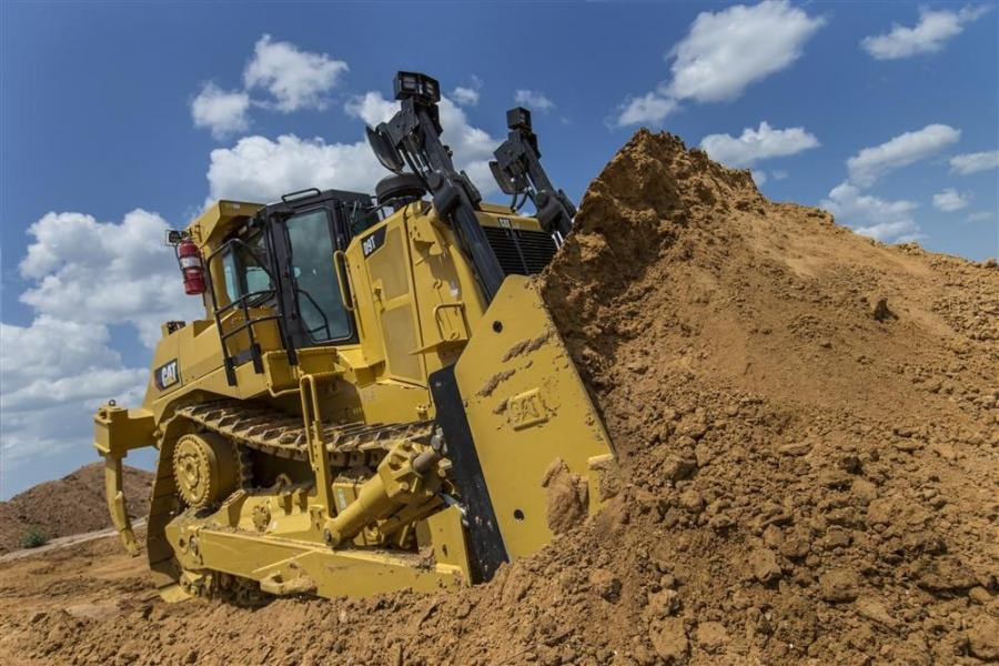 The new dozer features a Cat C18 ACERT engine, which meets Tier IV Final/Stage IV emissions standards, and delivers 436 net hp (325 kW) at 1,800 rpm.