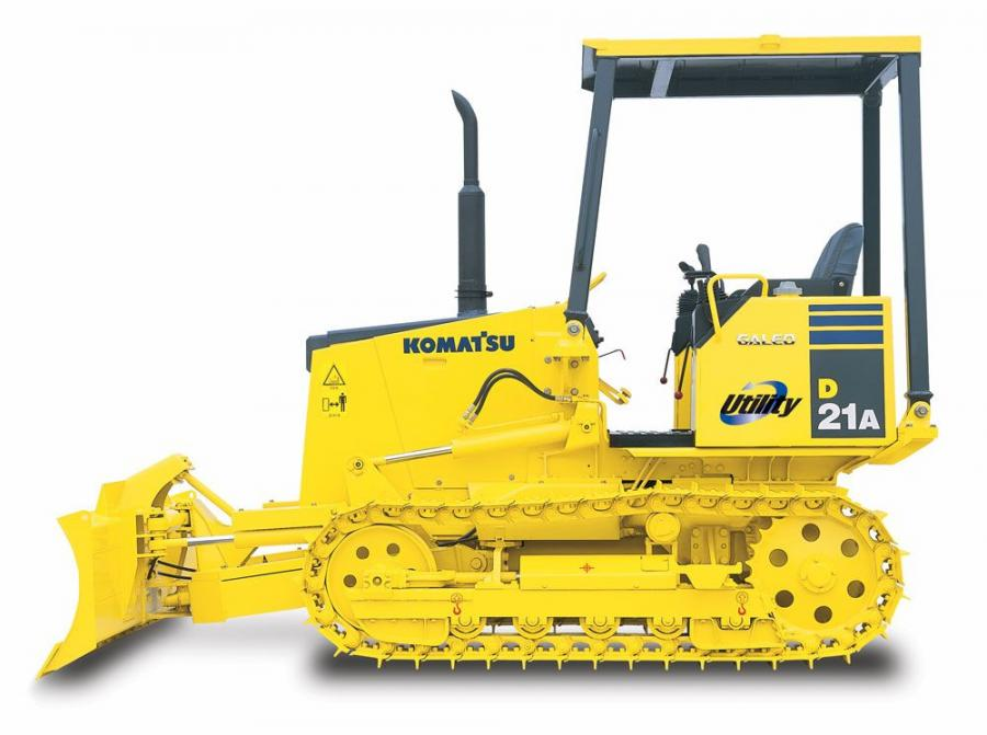 For increased balance and maneuverability on sloped, muddy and other adverse ground conditions, the D21A-8 is equipped with a long track and well-positioned center of gravity.