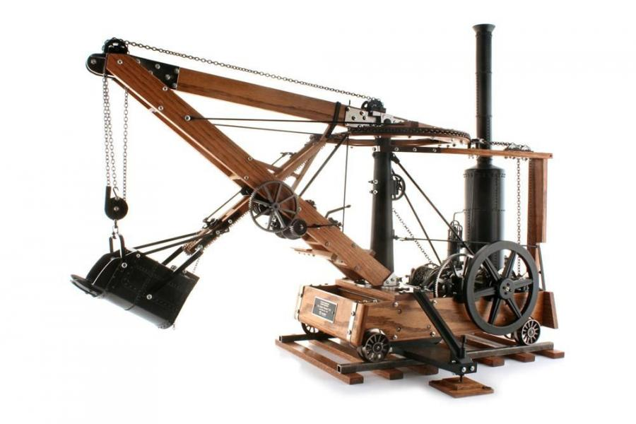 The Historical Construction Equipment Association (HCEA) is producing a 1:10 scale model of the 1841 Otis steam shovel. One of these models will be on display at booth L20012 at the west end of the Grand Lobby, conveniently located adjacent to the North H