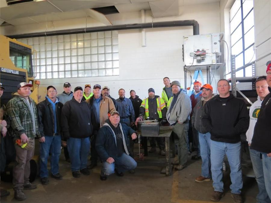 "On April 2, Patten CAT Certified Operator Trainer Don Styx stopped by Curran Contracting Company of Crystal Lake, Ill., to give the crew a ""refresher"" course on skid steer loader and double drum asphalt vibratory roller operating, just in time"