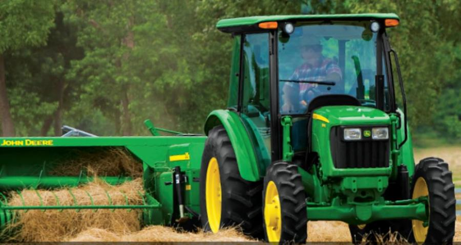 Image courtesy of Deere & Company.  Deere & Company has reported that Net income was $1.084 billion, or $2.76 per share, for the second quarter ended April 30, compared with $1.056 billion, or $2.61 per share, for the same period last year.