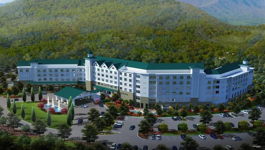 Image courtesy of Dollywood.com.  An artists conception of the planned $300 million Dollywood expansion.