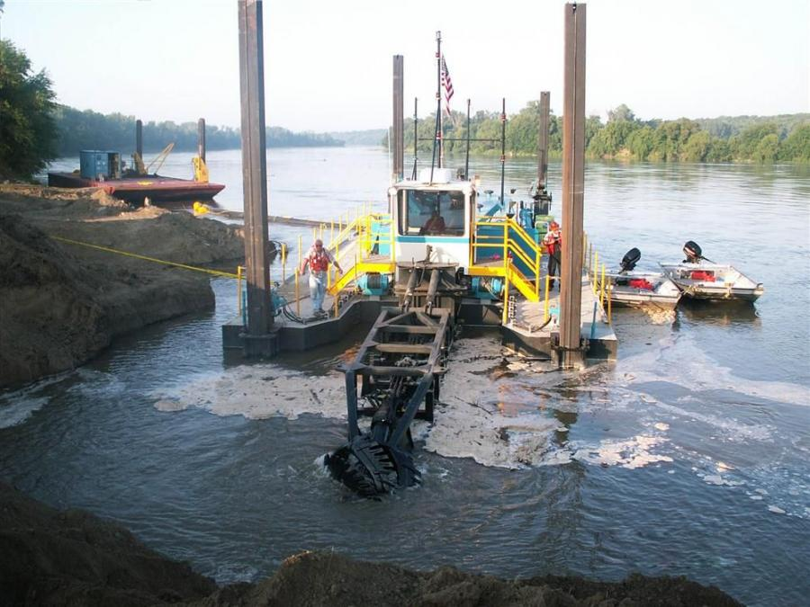 The barracuda class is a two-in-one dredge that easily converts from a swing ladder dredge to a conventional dredge without sacrificing portability.