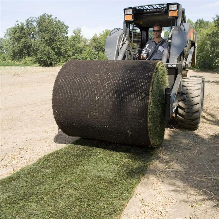 Tubular frames handle rolls of sod up to 48 in. (122 cm) wide and up to 60 in. (152 cm) in diameter.