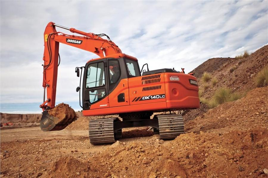 The Doosan DX140LC-3 and DX180LC-3 excavators have been upgraded to allow operators to customize the excavator to a variety of working conditions.