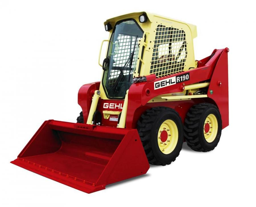 The winner of the Gehl throwback R190 skid loader will be announced at the 2014 Wisconsin