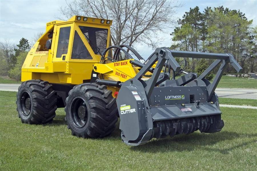 In addition to multiple cutter head options, the Geo-Boy is available in both wheeled and track configurations.