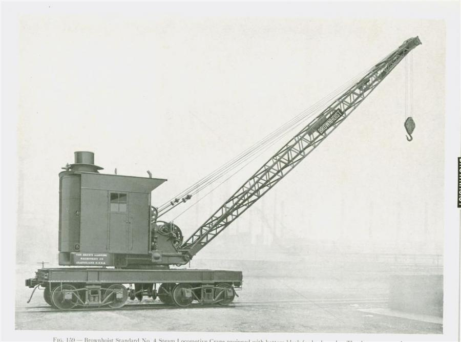 Brown Hoisting catalog, 1919 photo