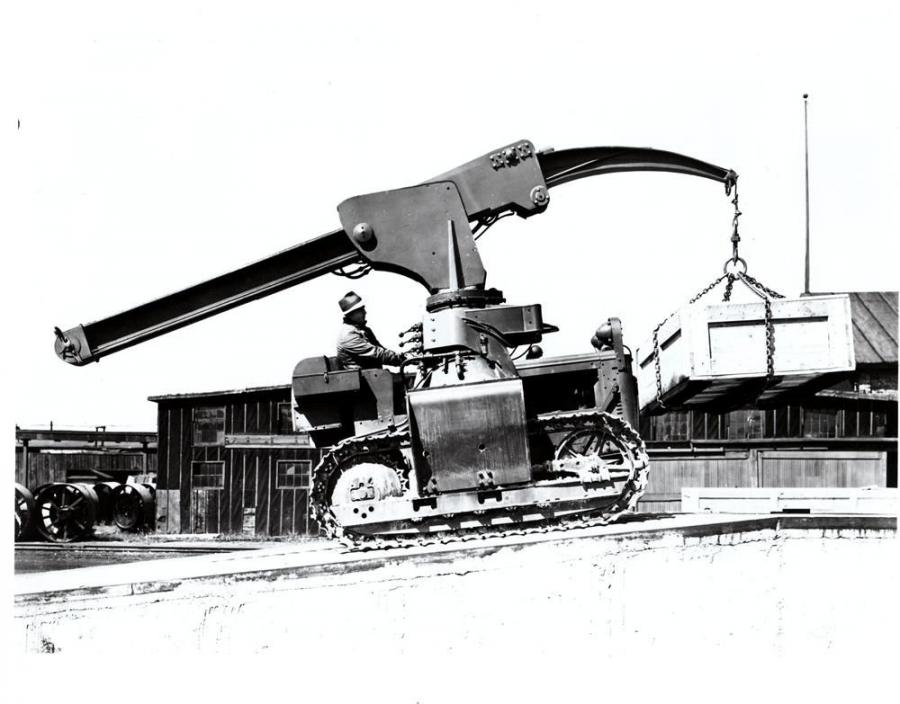 The Mobile Crane Its First 50 Years In America