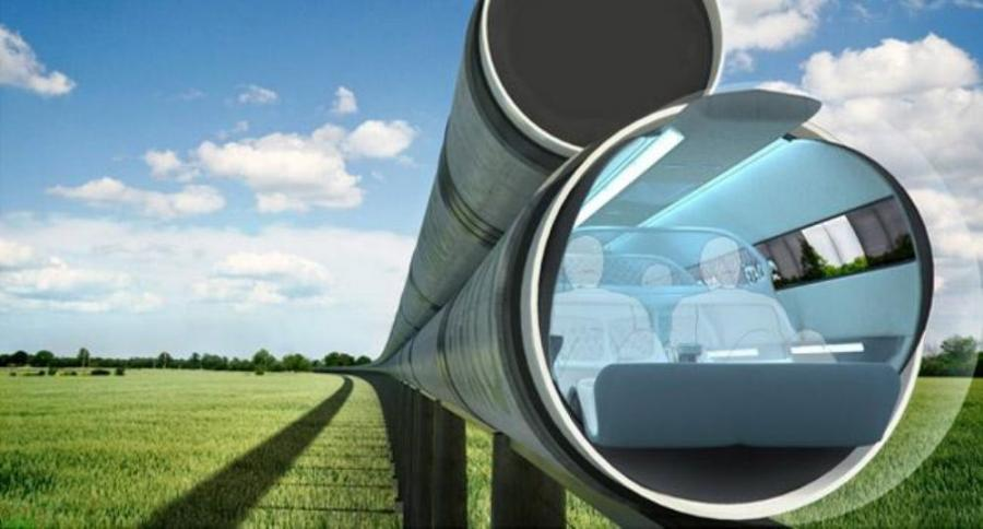 Evacuated Tube Transport Technologies (ET3) has developed a conceptual maglev train inside of an air-locked tube that utilizes a very small amount of energy for transport. Musk says the Hyperloop won't utilize a vacuum tube.   Image Courtesy / ET3