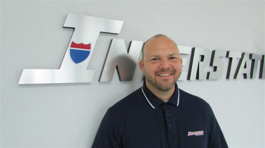 Matt Laws, Interstate Trailers' new president.