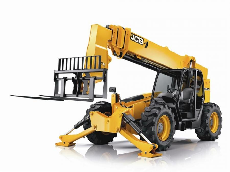 The 512-56 is the largest machine in the company's range of telescopic handlers.