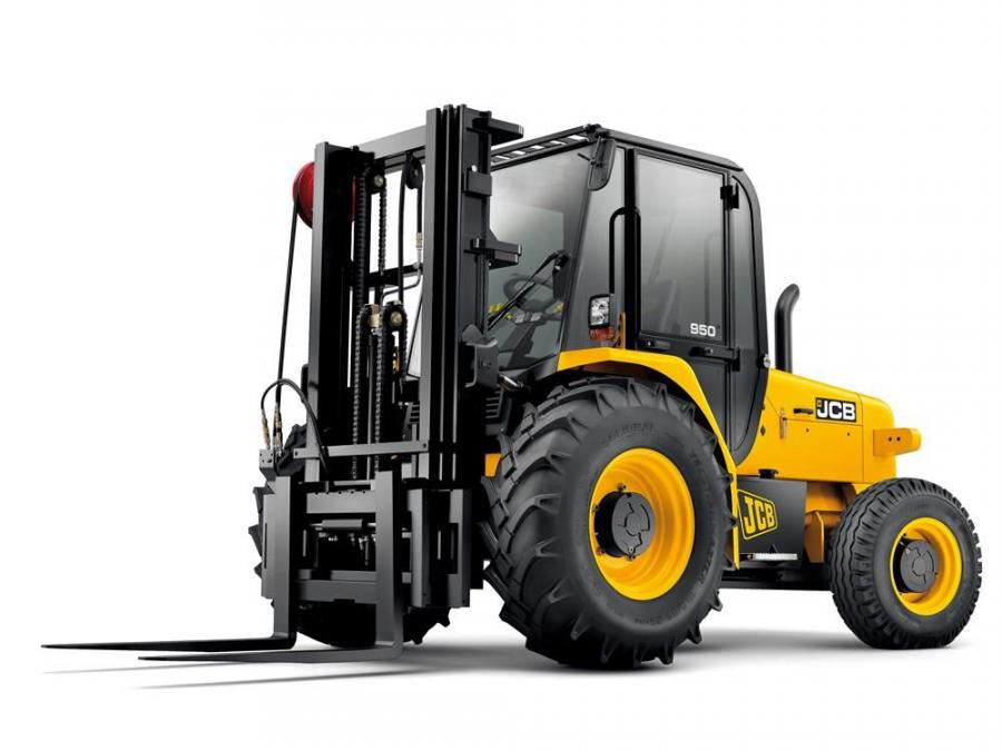 The JCB 950 tips the scales at 18,650 lbs. (8,459 kg) and builds on the features of the 930 and 940 models.
