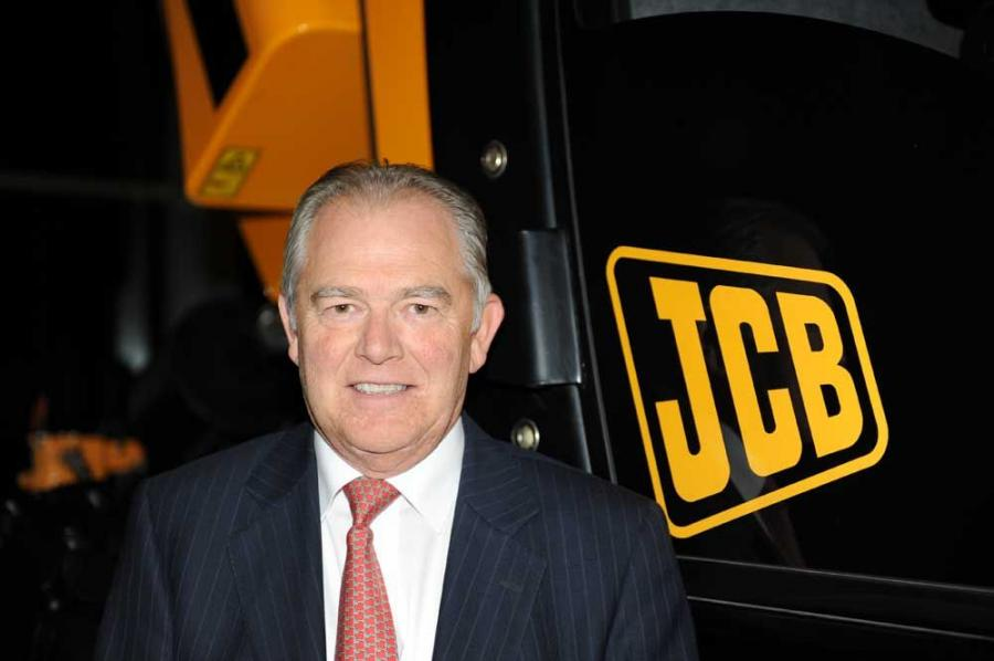 Alan Blake becomes JCB chief executive officer on Jan. 1, 2010.