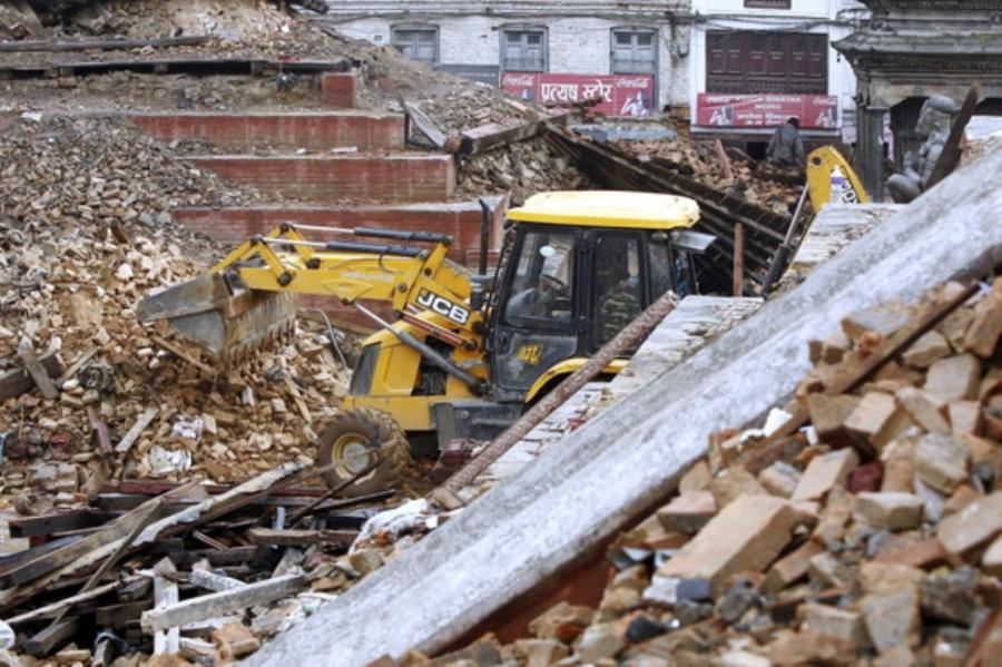 JCB has a long history of helping countries affected by major natural disasters.