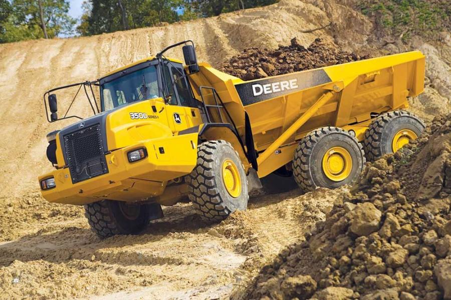 All D-Series models are six-wheel-drive units that provide traction in demanding conditions.