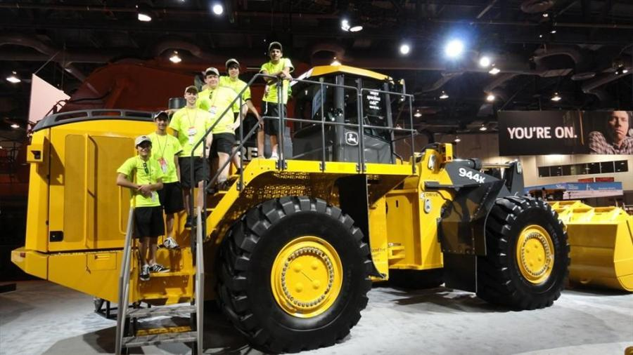 John Deere Construction & Forestry sponsored a team from the Bartlett, Ill., High School Academy of Science and Engineering in this year's Association of Equipment Manufacturers (AEM) Construction Challenge.