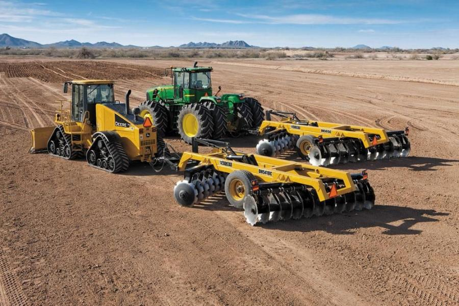 John Deere Construction & Forestry has introduced three new series of Frontier construction offset disks for its dozers and scraper tractors with heavy weight-per-blade ratios to help users cut deep into tough, compacted soil.