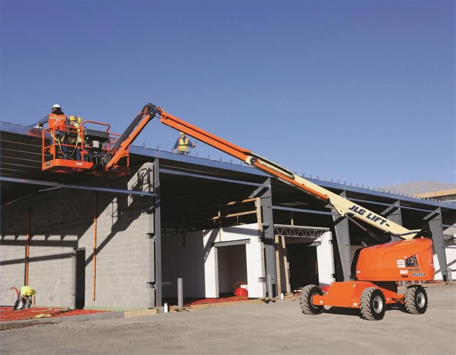 The 400S and 460SJ are telescopic (straight) boom lifts, and the 450AJ is an articulating boom lift. With platform capacities up to 1,000 lbs. (453 kg), these machines allow operators to take more tools and supplies to their work, which can improve work o