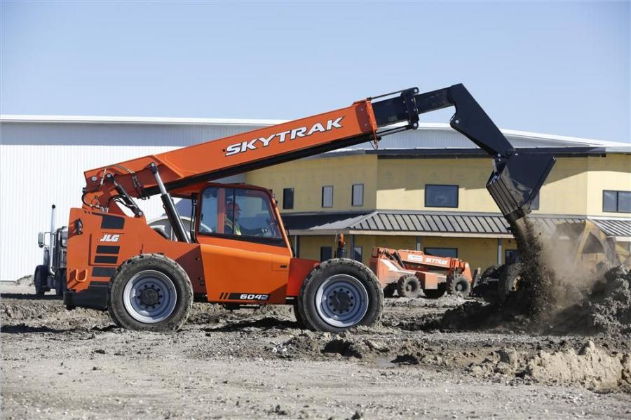 JLG Showcases Upgraded Skytrak Telehandlers Construction