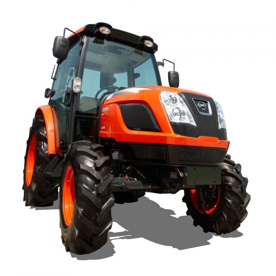 Along with the Tier IV engines, the NX tractors are equipped with hydrostatic power steering, rear differential lock and wet multi-disc brakes.