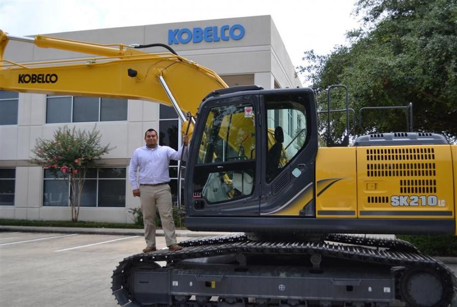 Javier Marin will be responsible for compiling comparative parts pricing in order to develop and implement Kobelco's pricing strategy.