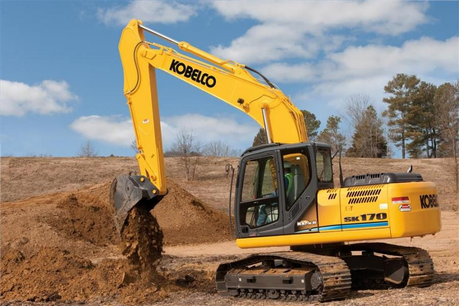 Kobelco Construction Machinery America has introduced the SK170 full-size, high-performance excavator to the Kobelco Mark 9 excavator series.