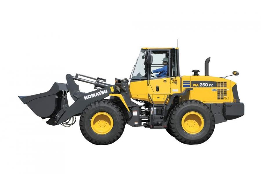 The WA250PZ-6 gets its power and productivity from a Komatsu SAA6D107E-1 engine. This engine has a net power of 138 hp (103 kW), is EPA Tier III emissions certified and provides high productivity with low fuel consumption and low noise.