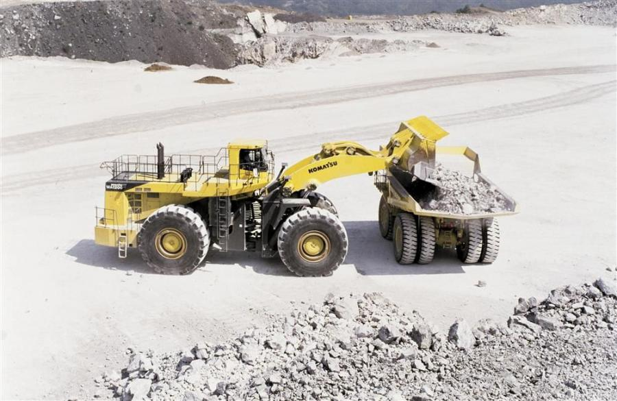 The WA1200-6 is powered by a Komatsu SDA16V160E-2 engine that delivers 1,892 gross hp (1,440 kW) at 1,800 rpm. With an operating weight of 477,100 lbs. (216,409 kg), the new loader offers increased fuel efficiency.