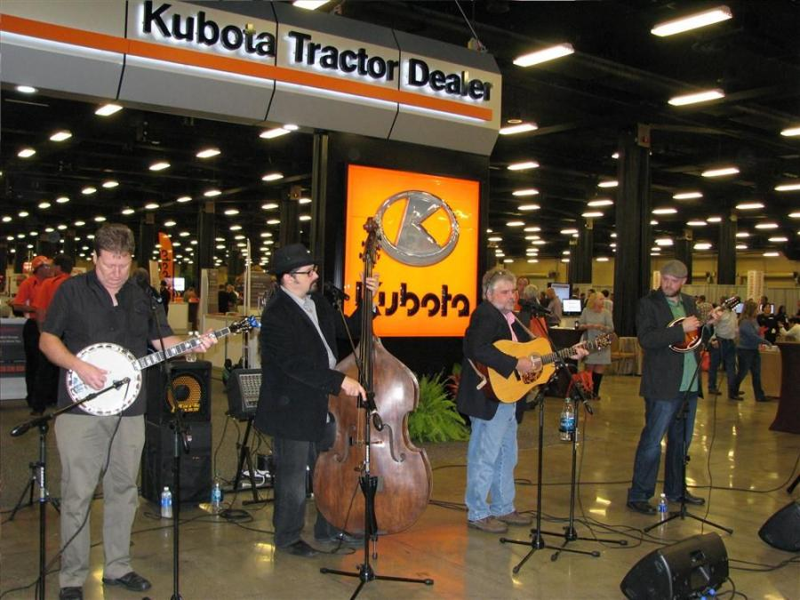 The 2014 Kubota National Meeting was held at the Opryland Hotel and Convention Center in Nashville, Tenn., and featured country music performances.