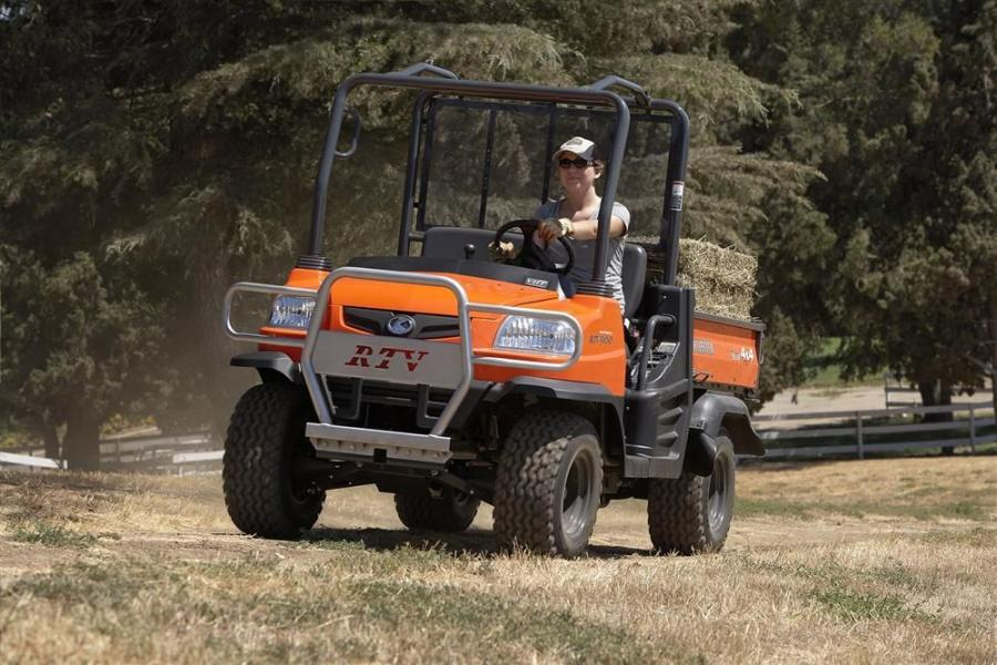 Kubota adds to it utility vehicle lineup with the RTV900XT.