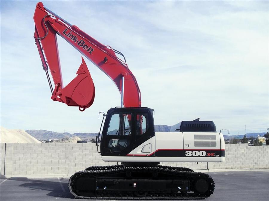 In 2011, LBX will introduce five new Link-Belt X3 series excavator. The X3 Series full-sized conventional models have been completely redesigned.